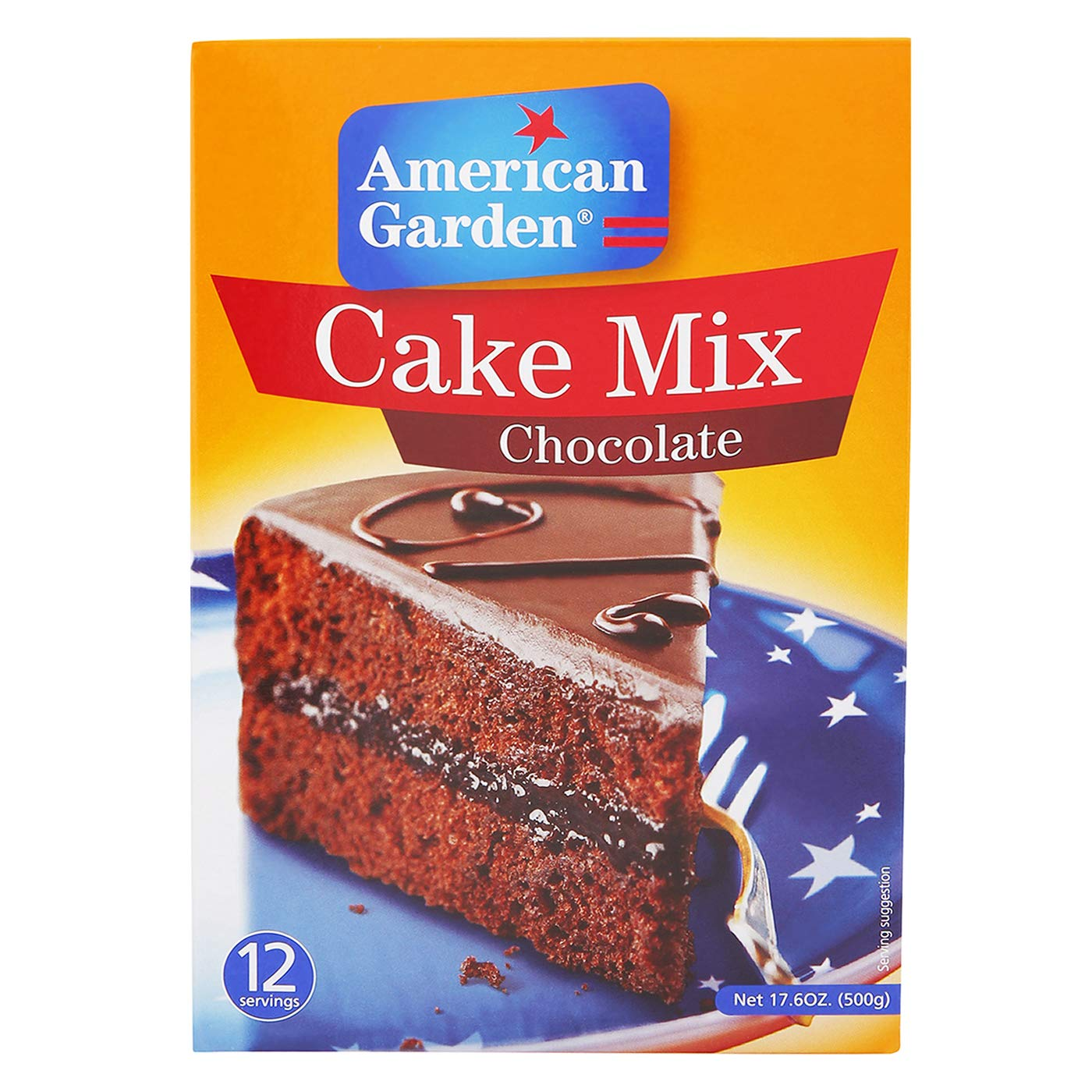 American Garden Cake Mix Chocolate 500g Amazon In Grocery Gourmet Foods