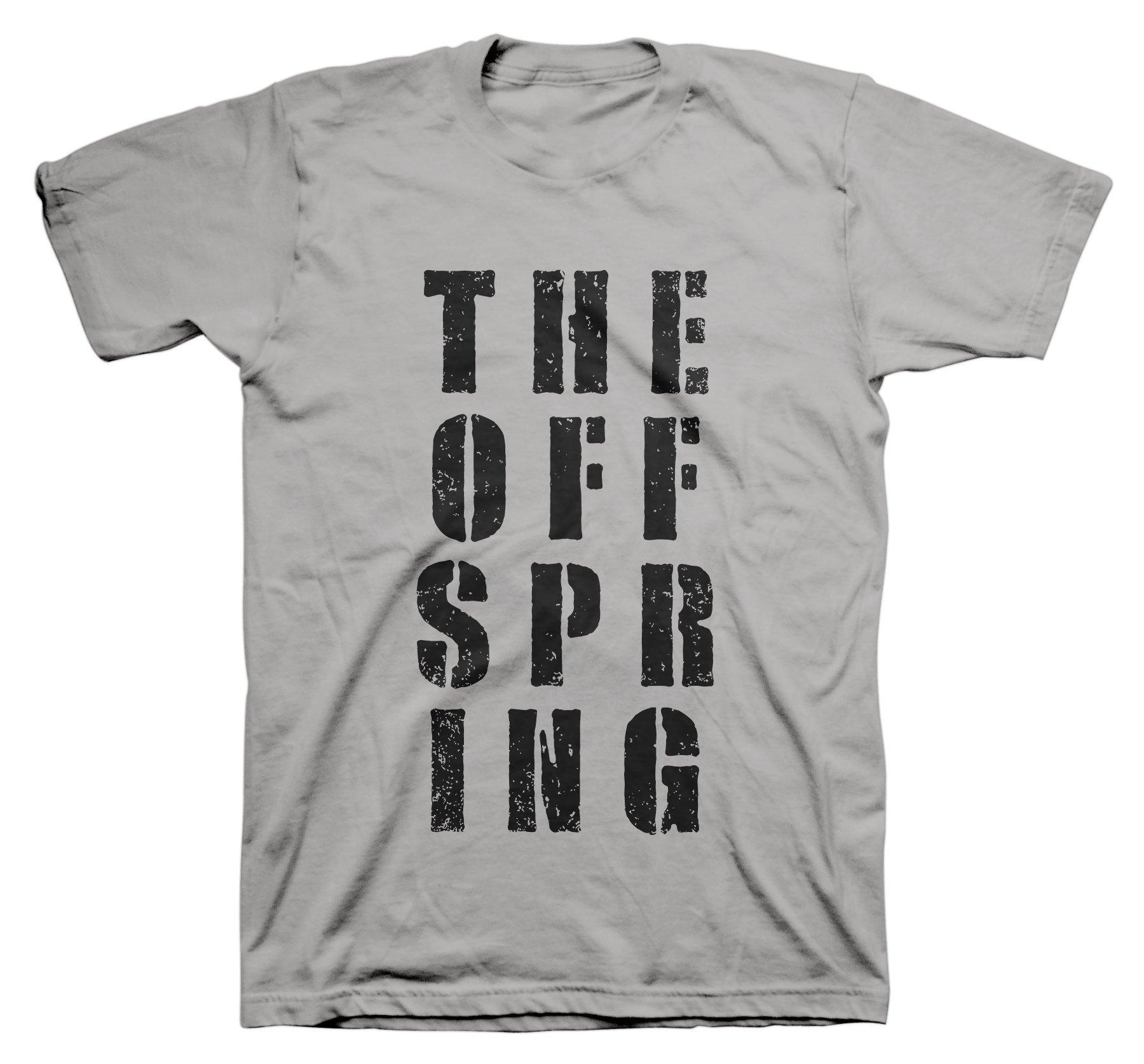 Offspring The Block Letter Logo Adult Tshirt