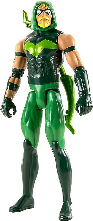 Justice League Figura Flecha Verde, 30 cm (Mattel FBR06): Amazon ...
