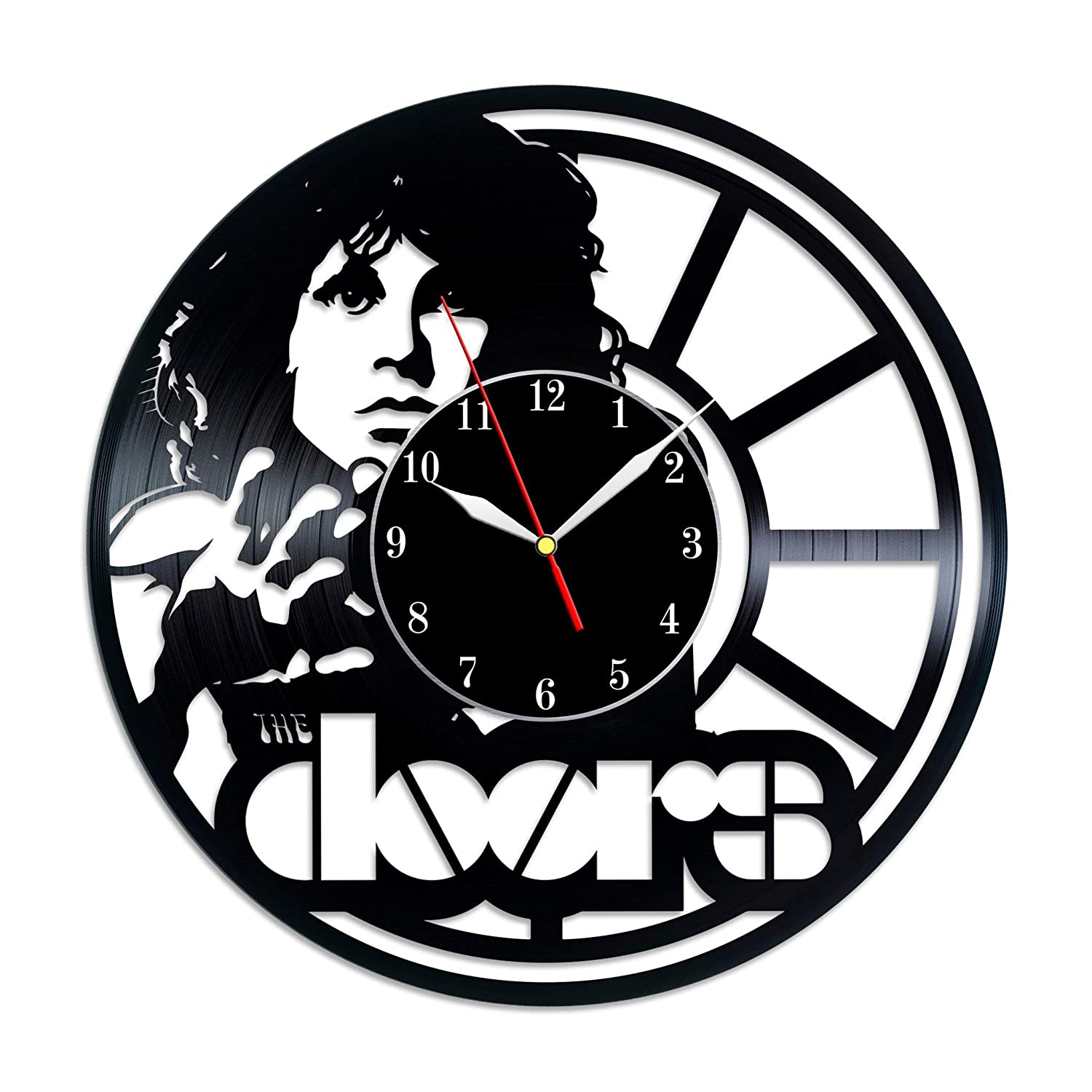 The Doors Gifts For Every Occasion Wall Clock Vintage Birthday Gift For Fan The Doors kitchen decor The Doors band vinyl record wall clock