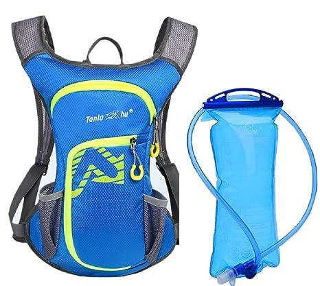 f8f44accf08c Amazon.com : TANLUHU Cycling Backpack, Bike Shoulder Bag Lightweight ...