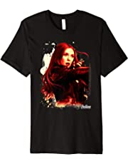 Marvel Infinity War Scarlet Witch Portrait Graphic T-Shirt