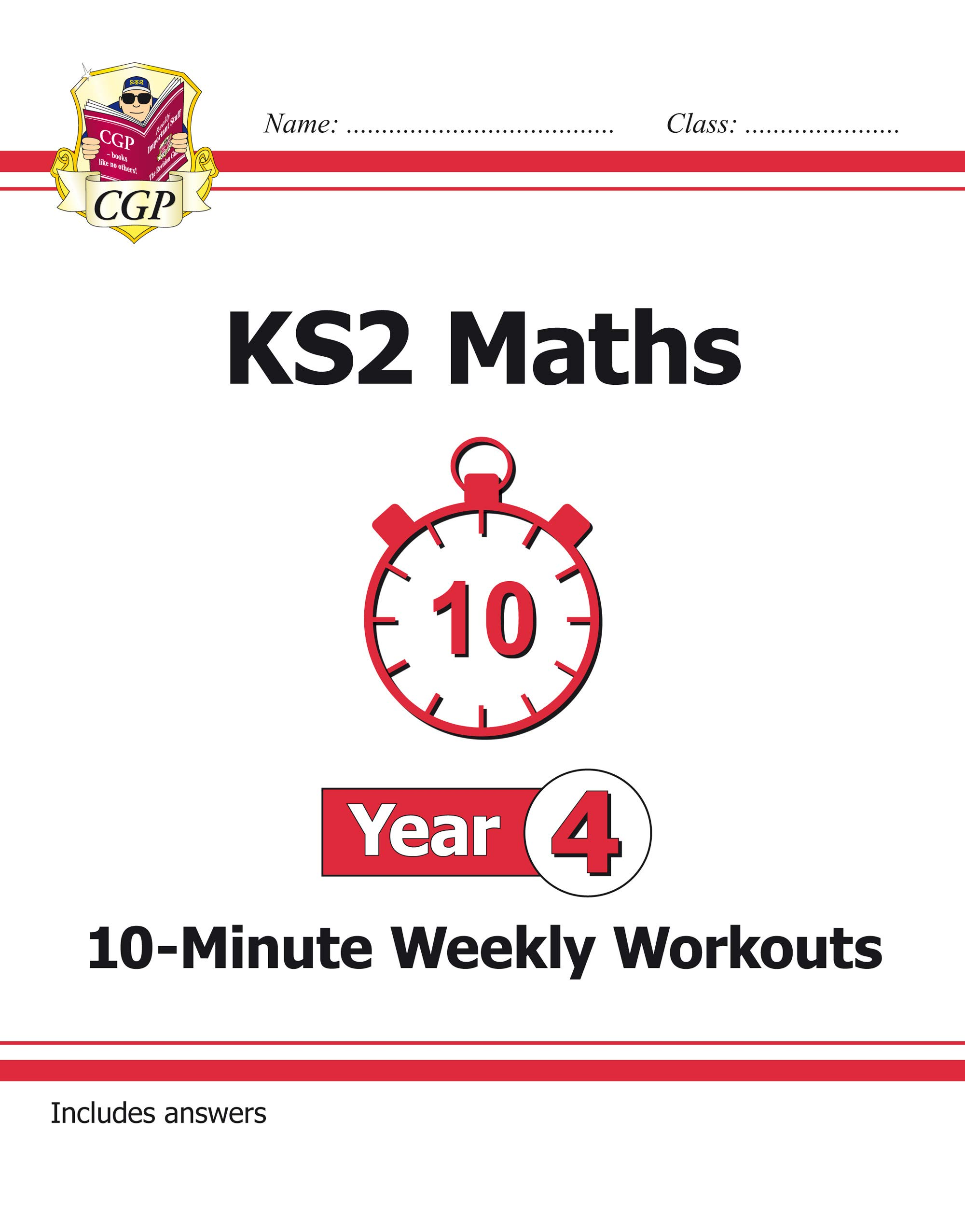 New KS2 Maths 10-Minute Weekly Workouts - Year 4 ...