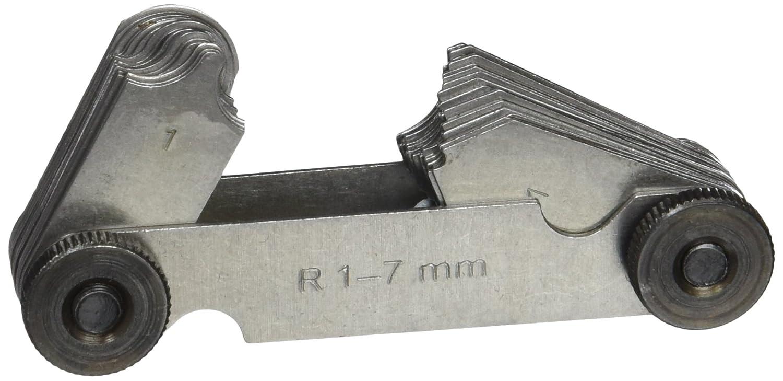 Vogel 472105 - Juego galgas para radios - Templado - 17 láminas