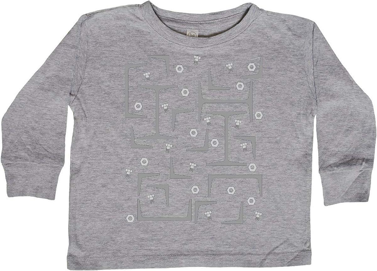 inktastic Nuts Angles and Gray Steel Beams Baby T-Shirt Bolts