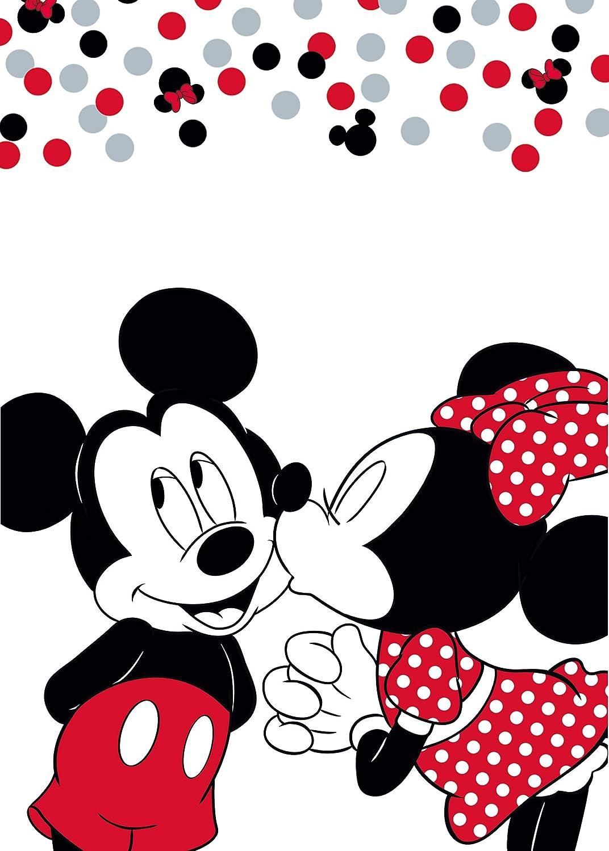 Aymax mickey /& Minnie Mouse fleece blanket 140 x 110 cm