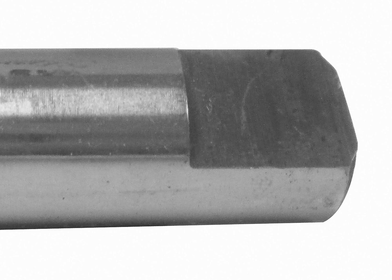Decimal Equivalent: .4531 OAL: 7-1//2 Carbide Tipped Taper Length Drill Diameter: 29//64 Flute Length: 4-3//4