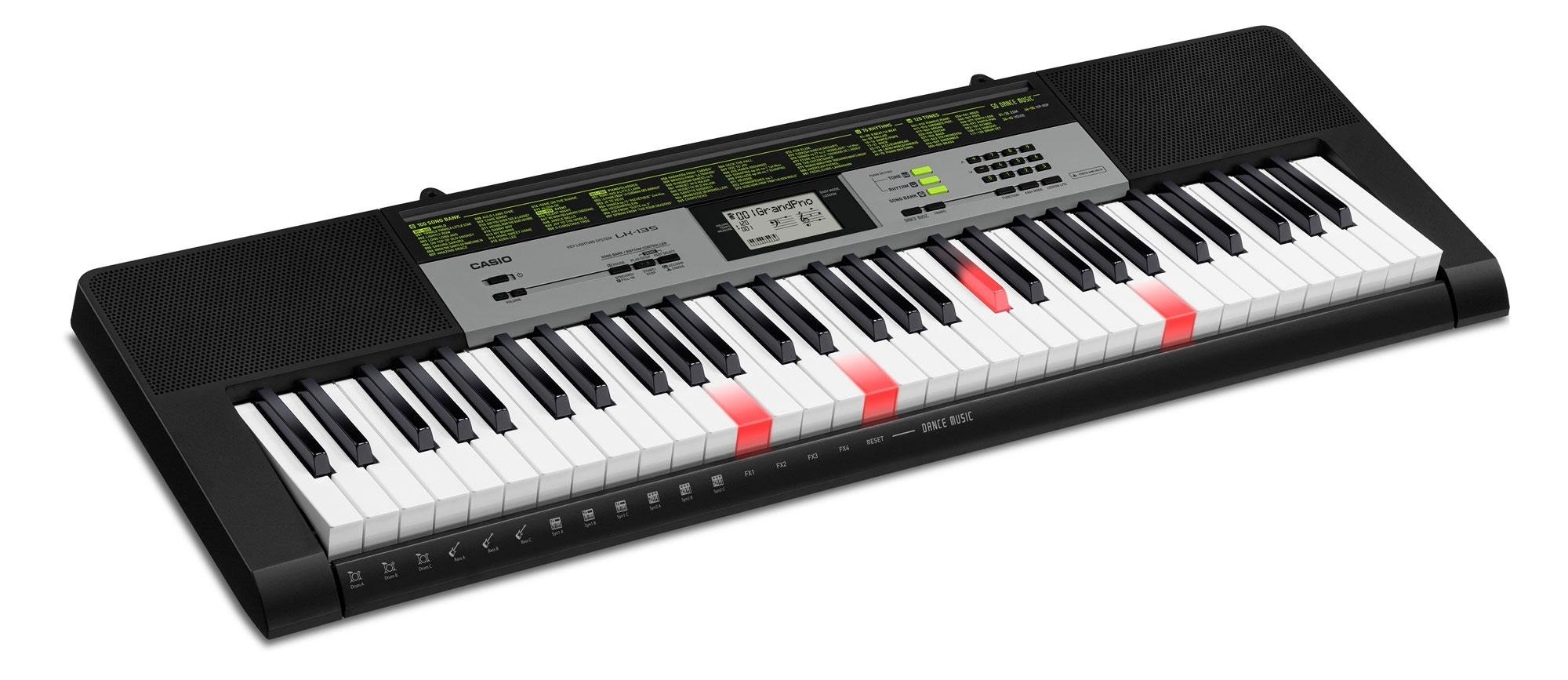 Excellent Performance With A MIDI Keyboard - Casio LK 135