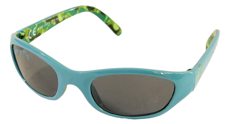 Gafas de sol para niños George Pig con personajes azules a ...