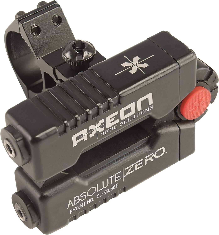 AXEON Optics Absolute Zero Easy One-Shot Laser Rifle Zeroing Device for Rifle Scopes