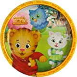 """BirthdayExpress Daniel Tigers Neighborhood Party Supplies - 9"""" Large Paper Dinner Plates (8 Count)"""