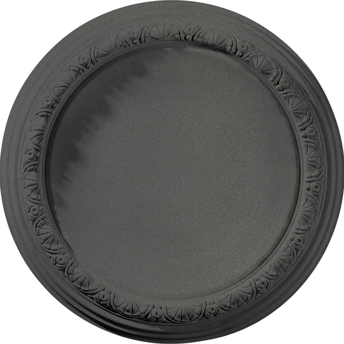 Ekena Millwork CM19CASGS Carlsbad Ceiling Medallion fits Canopies up to 14 1/4'', Steel Gray