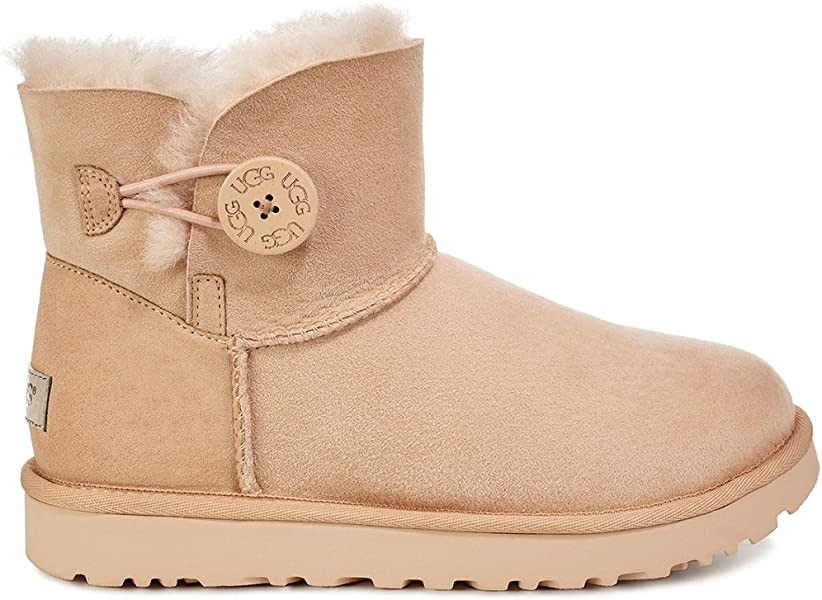 28b3b3d3a80fc UGG-W Mini Bailey Button II  Amazon.es  Zapatos y complementos