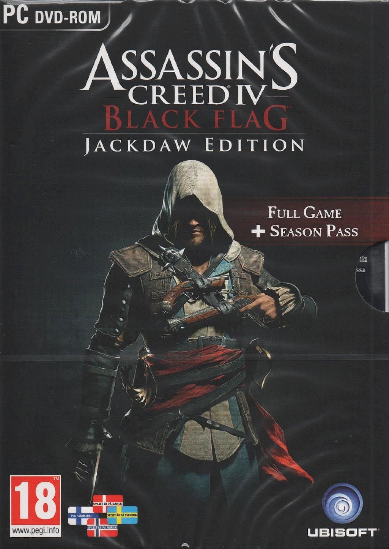 Assassin's Jackdaw Dvd Flag Creed IvBlack Editionpc PiuOkXZT