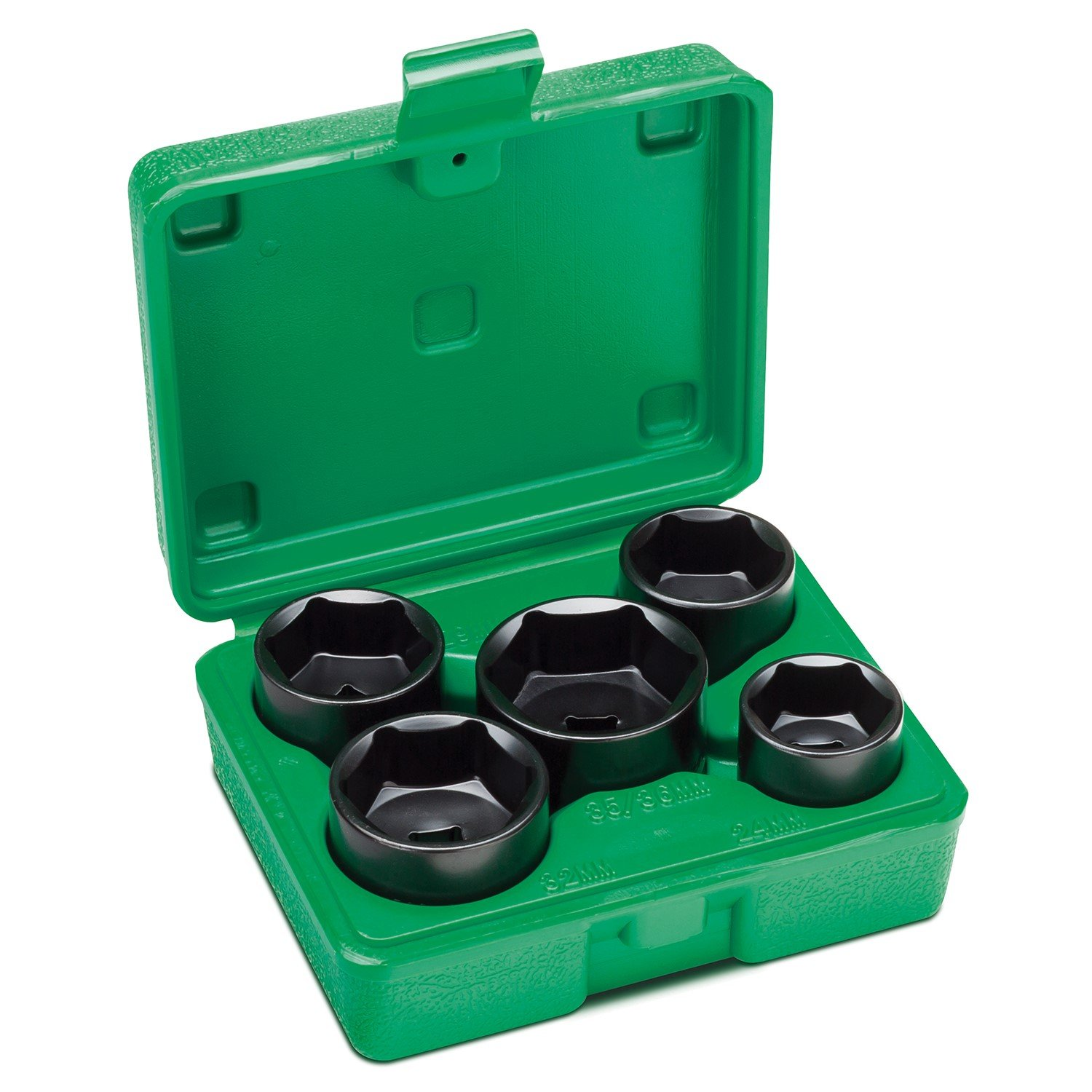 Steel Vision 581305 Piece 3/8'' Dr. Low Profile Oil Filter Socket Set