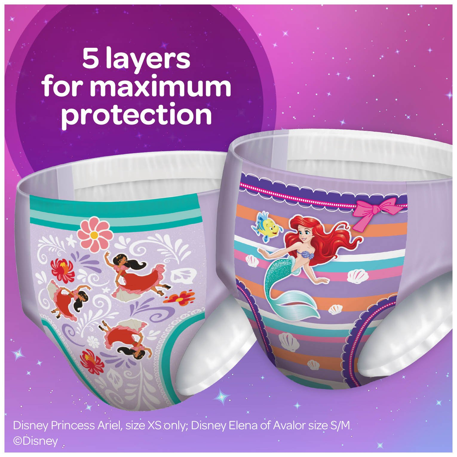 GoodNites Bedtime Bedwetting Underwear for Girls, XS, 15 Ct. (Packaging May Vary) by GoodNites (Image #5)
