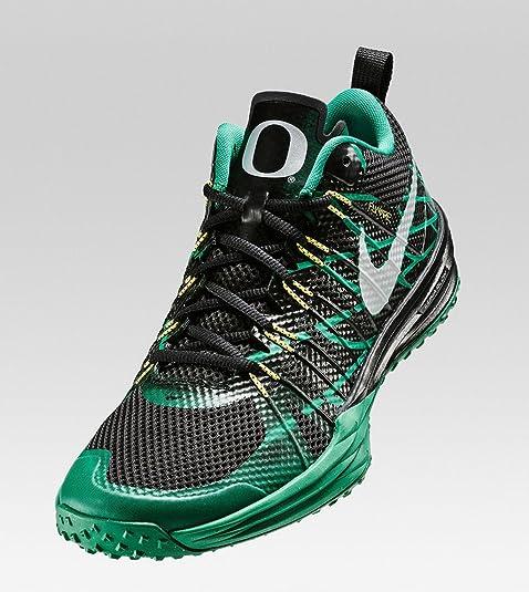 7c2891c1a337 Nike Lunar TR1 NRG (Oregon Ducks) Lunarlon Flywire Cross Training Running  Shoes (Size 10) Black  Amazon.ca  Shoes   Handbags