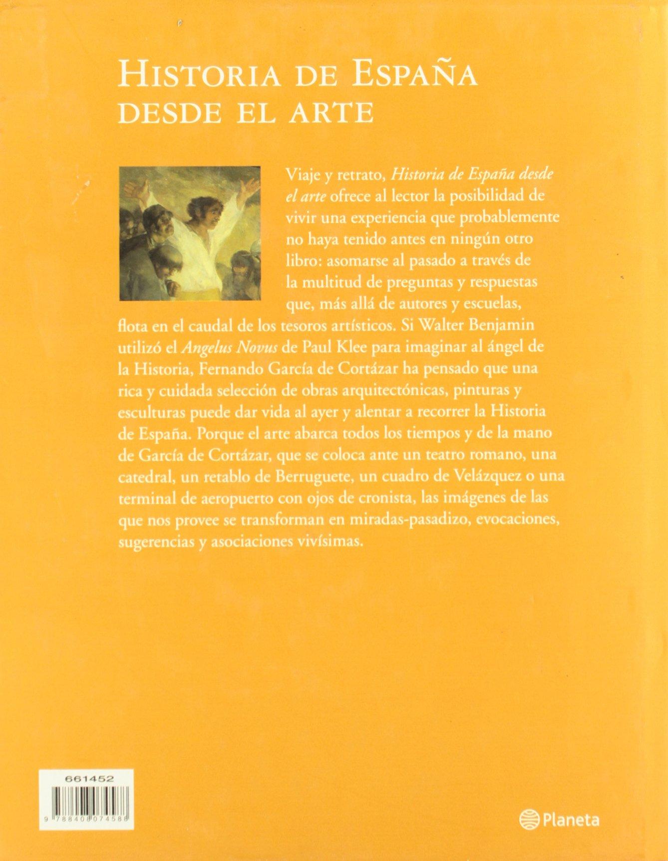 Historia de España desde el arte Historia y Sociedad: Amazon.es: García de Cortázar, Fernando: Libros