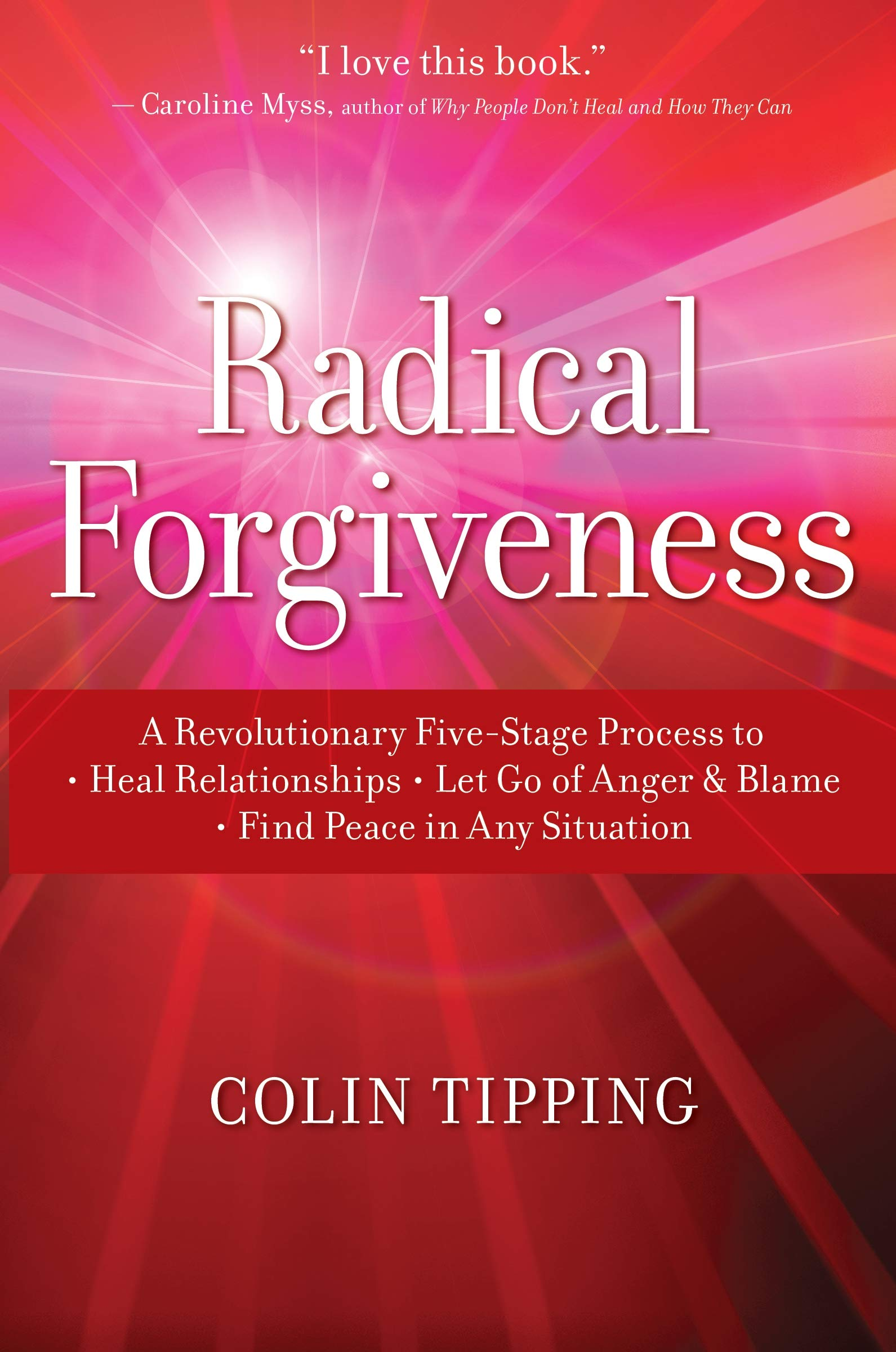 Radical Forgiveness: A Revolutionary Five-Stage Process to Heal Relationships, Let Go of Anger and Blame, and Find Peace…
