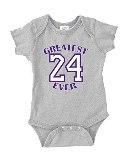 a093212dad79 The Silo GREY Los Angeles Kobe  quot Greatest Ever quot  Baby 1 piece 12  Months