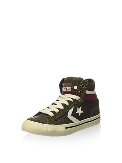 converse pro leather verde