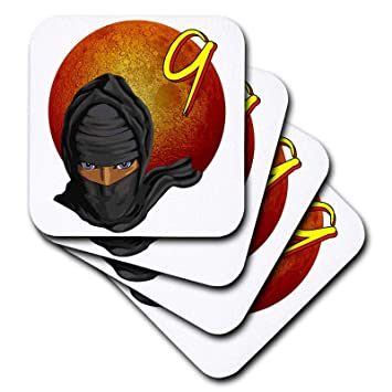 Amazon.com | 3dRose MacDonald Creative Studios - Ninja ...