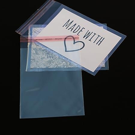 300 St DIN A6 B6 C6 Schutzhüllen glasklar für 3D Karten Fotos Postkarten
