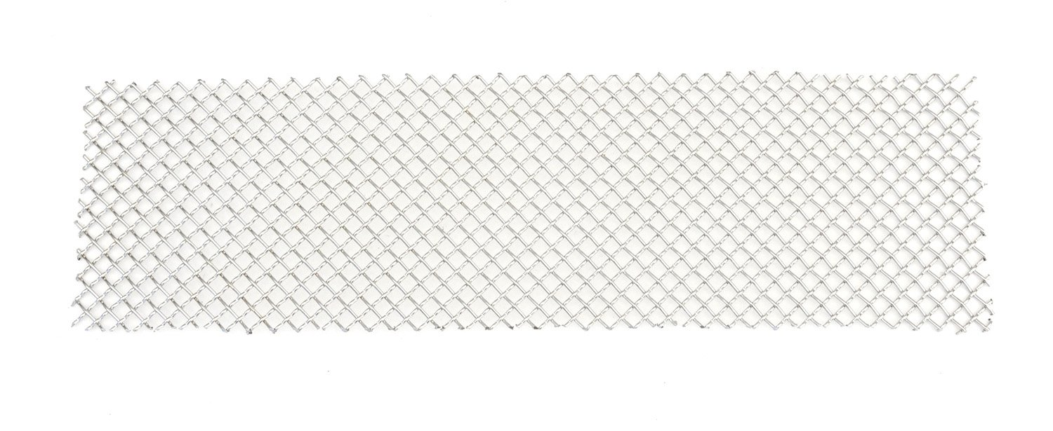 TRex Grilles 55563 Upper Class Large Mesh Stainless Polished Finish Bumper Grille Bolt-on for Ford Super Duty T REX