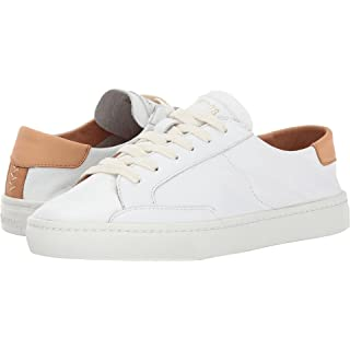 Soludos Women's Ibiza Classic LACE UP Sneaker, White, 11 B US