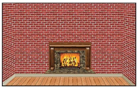 Amazon Com Beistle S10aza Christmas Insta Theme Fireplace