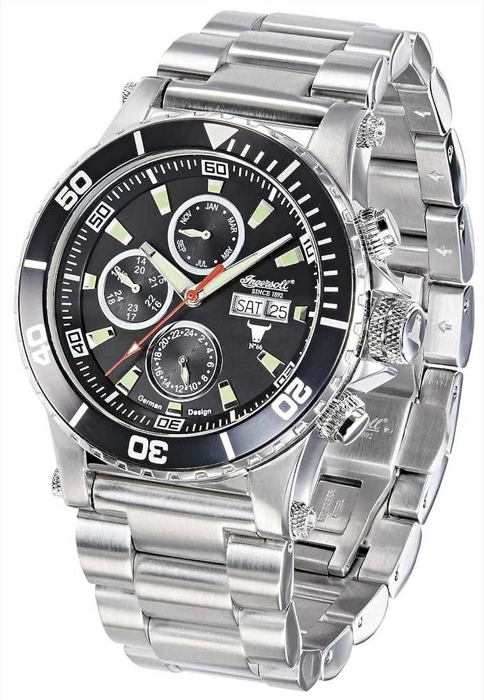 Ingersoll 腕時計 自動巻き カレンダー IN1511BKMB [並行輸入品] B01EV6ZZKS
