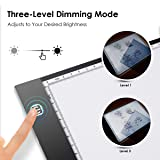 A4 Light Box, Ultra-Thin Portable LED Tracing Light Box Light-up Traking Pad with Stepless Adjustable Brightness Pad, Best Gifts for 4,5,6,7,8,9,10+ Year Old Boys and Girls