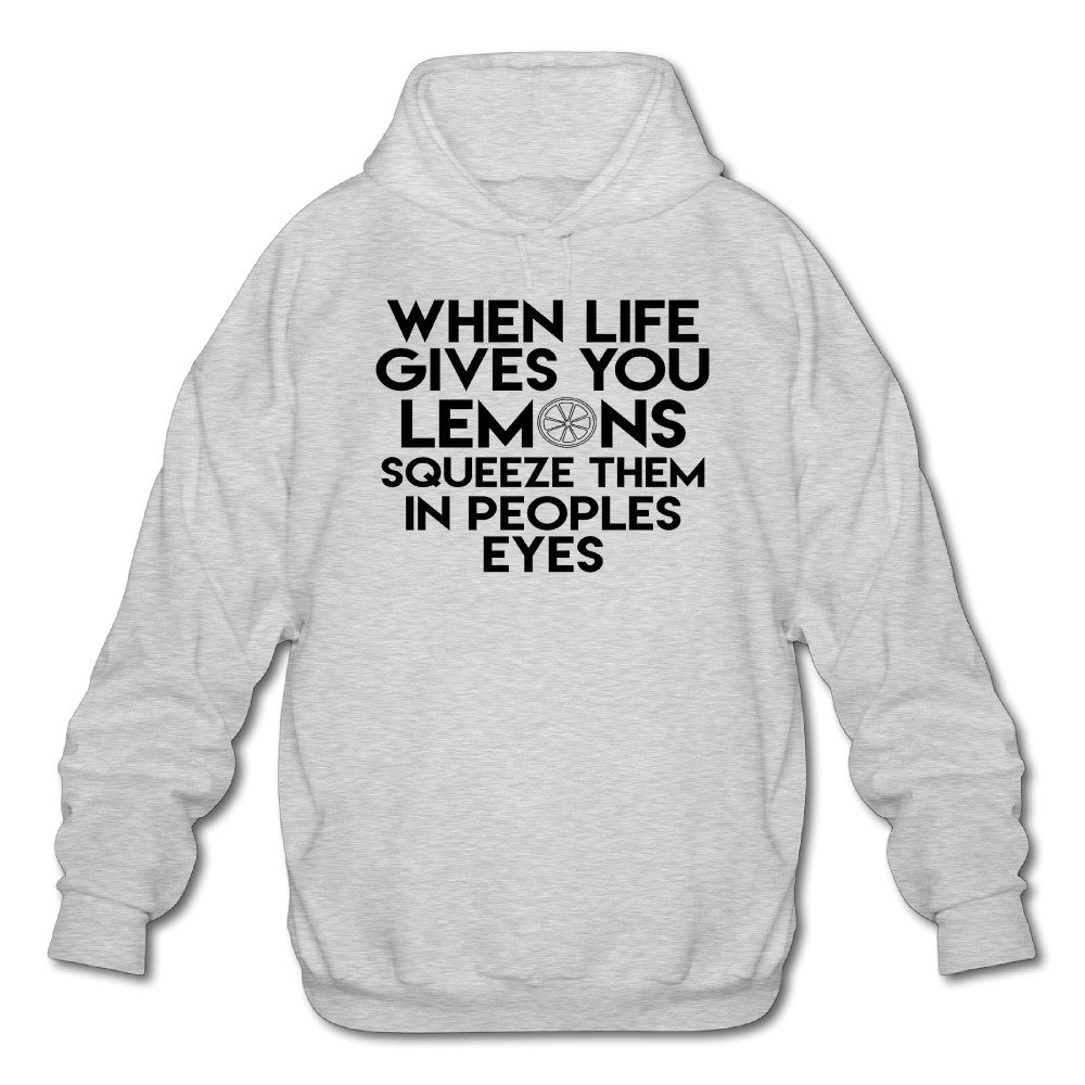 Mens Long Sleeve Cotton Hoodie Life Gives You Lemons Squeeze Other Peoples Eyes.png Sweatshirt