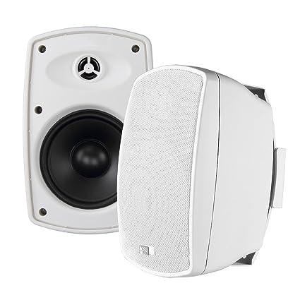 "OSD Audio 70V Commercial Patio Pro Speaker 6.5"" Indoor Outdoor IP65 Composite Cabernet White Pair AP650T: Amazon.in: Electronics"