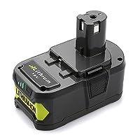 Energup 18V 4,0Ah RB18L40 Li-ion Batterie de Remplacement pour Ryobi ONE+ P108 P105 P102 P103 P107