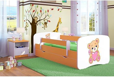 Kocot Kids Cuna Cama 70 x 140 80 x 160 80 x 180 Color Naranja ...