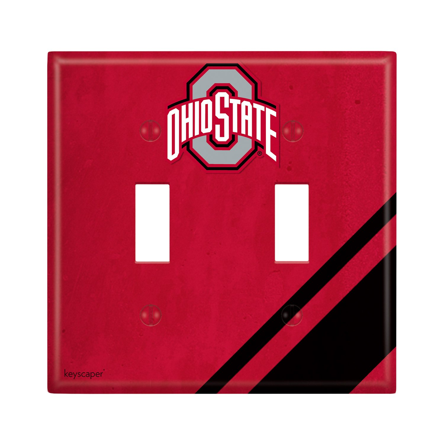 Ohio State University Double Toggle Light Switch Cover NCAA