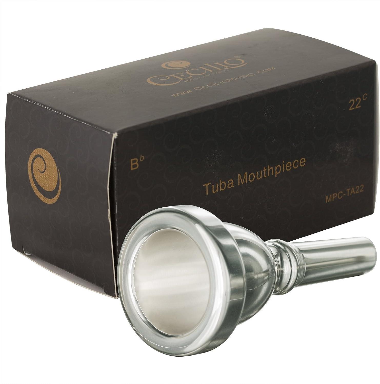 Cecilio Standard Tuba Mouthpiece