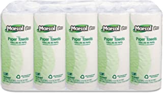 product image for MARCAL 610 100% Premium Recycled Perforated Towels, 11 x 9, White, 70/Roll, 15 Rolls/Carton
