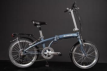 """MIFA Bicicleta plegable con ruedas de aluminio, 20"""", cambio Shimano con 7 velocidades"""