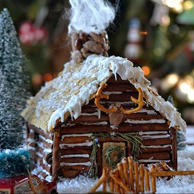 Molde para repostería de Navidad, diseño de caseta de chocolate: Amazon.es: Hogar