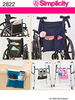 product image for Simplicity 2822 Wheelchair and Walker Accessory Sewing Pattern, One Size