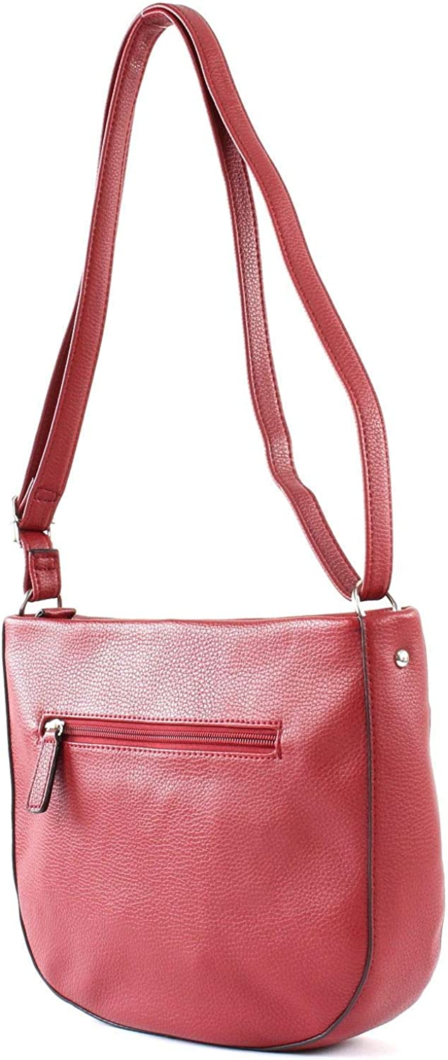 Gerry Weber Damen Talk Different Ii Shoulderbag MHz Schultertasche, 7x24x28 cm Rot (Red)