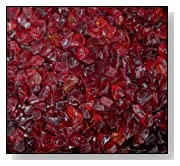 Fire Pit Glass RED 1/4 10 LBS
