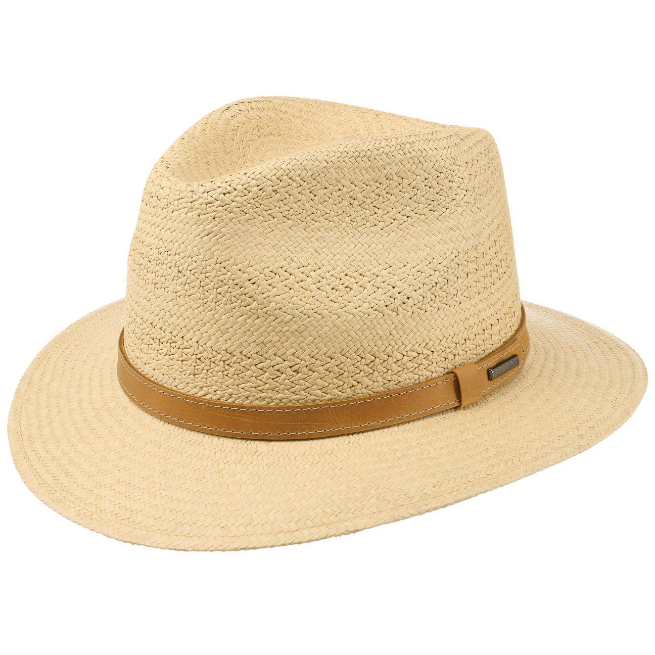 c21624e86b3 Stetson Lexerell Traveller Panama Hat Sun Beach (M (56-57 cm) - Nature)   Amazon.co.uk  Clothing