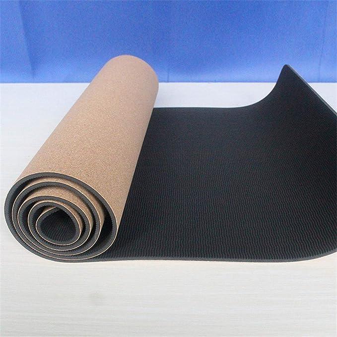 Amazon.com: Alfombrilla de yoga de corcho, fabricante de ...