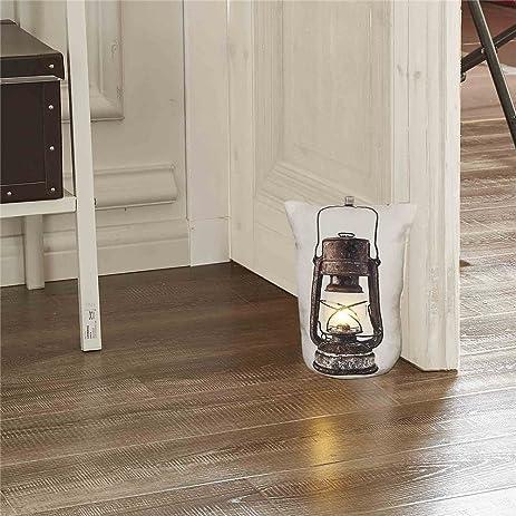 DECOSY Creative Door Stops Decorative LED Night Light Household Floor Decor with 3D Kerosene & Amazon.com : DECOSY Creative Door Stops Decorative LED Night ...