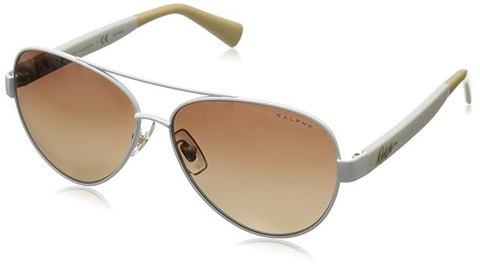 87b199d522e Ralph by Ralph Lauren Women s 0RA4114 Polarized Round Sunglasses ...