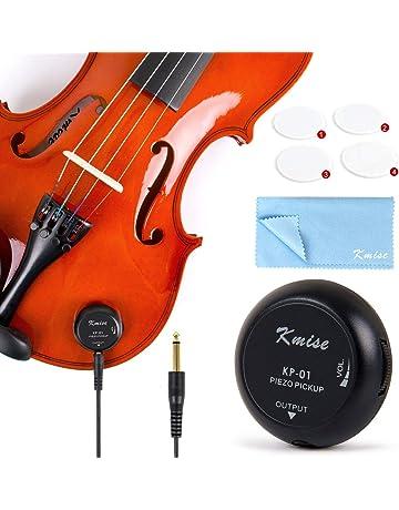 Piezo Pickup Contact Piezo Transducer Microphone for Ukulele Banjo Banjolele Violin Acoustic Guitar Cello Kalimba(