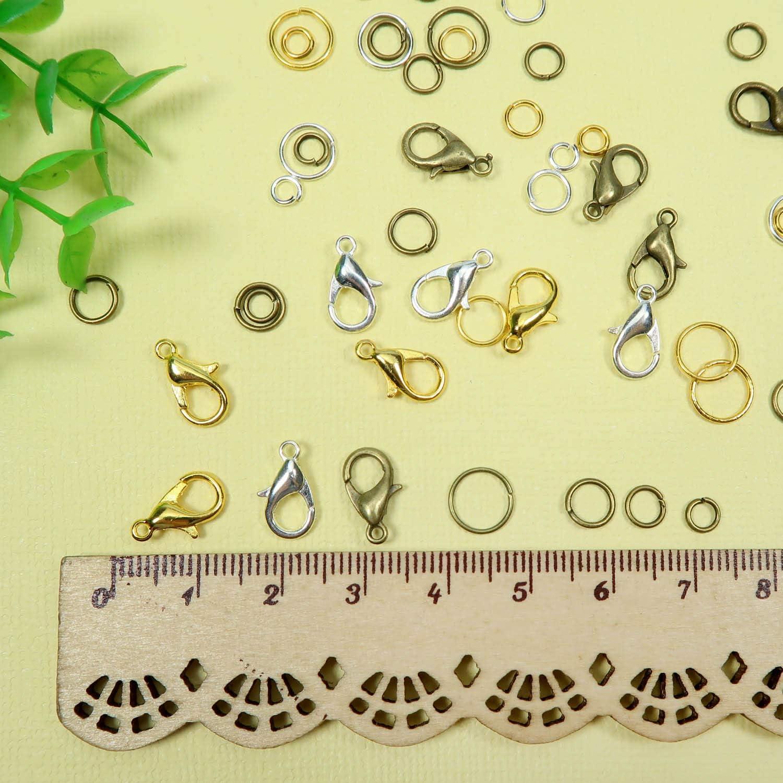 50 Pcs En Caoutchouc Noir Cordon Anneau composants avec Brass Findings Crafts 10x19 ~ 28 mm